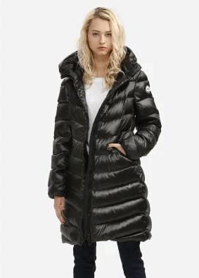Зимняя стёганая женская куртка