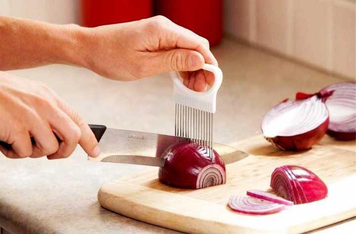 Лайфхак как нарезать лук с Алиэкспресс