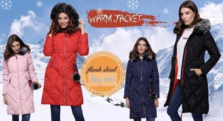 Топ-5 зимние женские куртки на Алиэкспресс