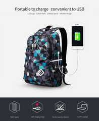 Рюкзак школьный usb